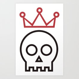 Hamlet. To be or not to be Art Print