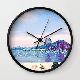 Rio de Janeiro - Pão de Açúcar - Art Wall Clock