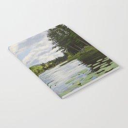 Secret Adirondack Pond Notebook