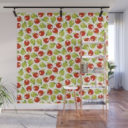 Bitten apples Wall Mural
