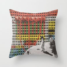 electric sheep Throw Pillow