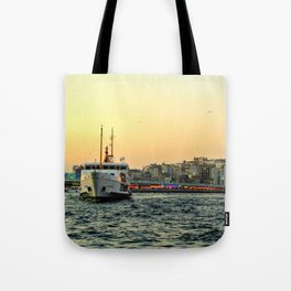 City of Mystery (2) Tote Bag