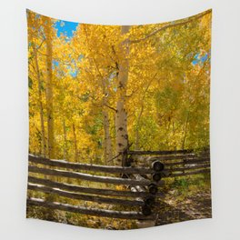 Aspen Autumn Color I - Southern Utah Wall Tapestry