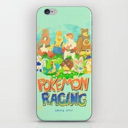 Pokémon Racing iPhone Skin