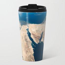 The Nile and the Sinai, to Israel and beyond. One sweeping glance of human history Travel Mug