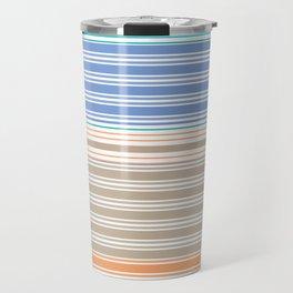 Cool Summer Stripes Travel Mug
