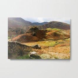 Castle Howe landscape Metal Print