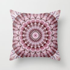 Mandala indian wedding Throw Pillow