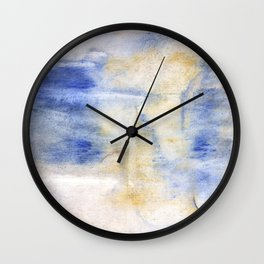 Peach blue Wall Clock