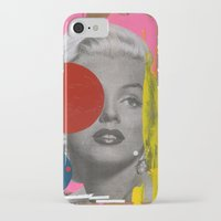marilyn iPhone & iPod Cases featuring Marilyn by FAMOUS WHEN DEAD
