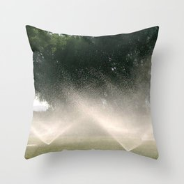 Sprinklers Throw Pillow