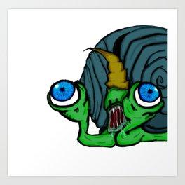 Slimerh! Art Print