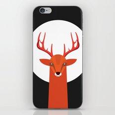 Deer and Moon iPhone Skin