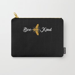 Bee Kind - Beekeeping Beekeepers Honey Carry-All Pouch