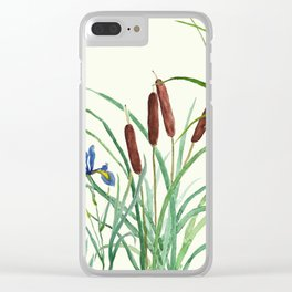 pond-side elegance Clear iPhone Case