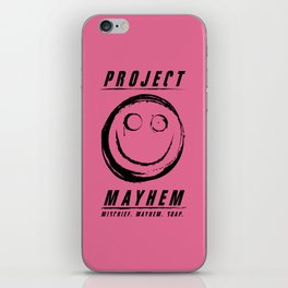 Project Mayhem iPhone Skin