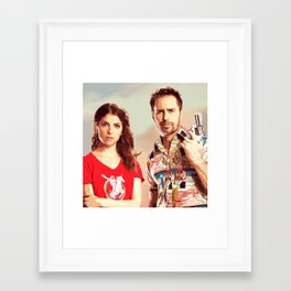 Mr. Right 2 Framed Art Print
