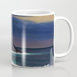 Classical Masterpiece Brewing Storm, Monhegan Island, Maine by Rockwell Kent Coffee Mug