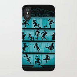 Silly Walking iPhone Case