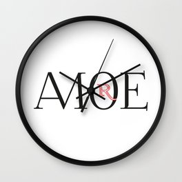 AMORE II Wall Clock