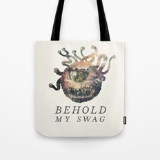 Beholder (Typography) Tote Bag