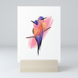 Birds on a Branch Mini Art Print