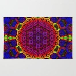 Fractal Mandala Rug