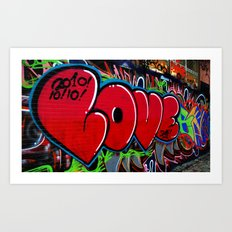 Love Art Art Print