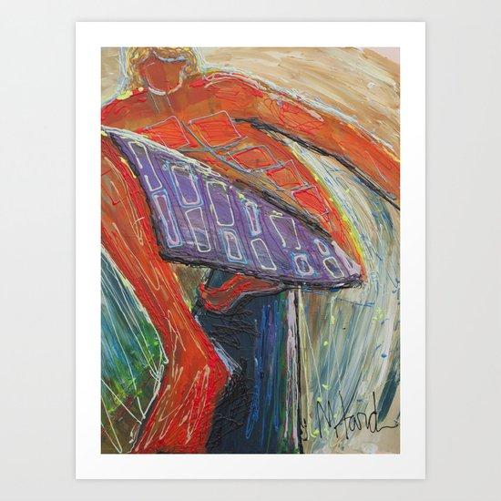 Hogan Art Print
