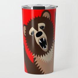 The Bear Says Boo Travel Mug
