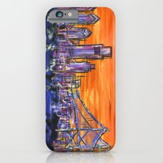 Ben Franklin Bridge Sunset iPhone 6 Slim Case