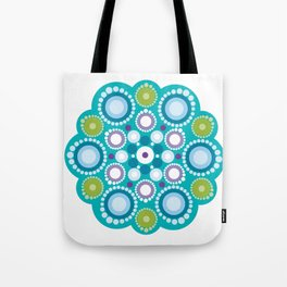 Lotus mandala flower Tote Bag