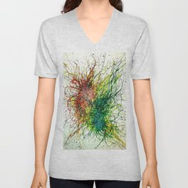 Particle Transference Unisex V-Neck