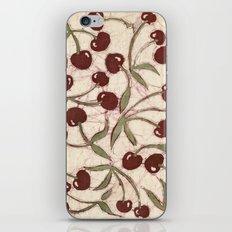 Sweet Cherry Batik iPhone & iPod Skin