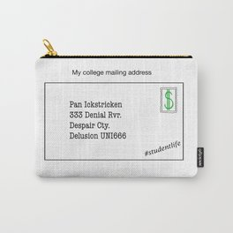 College Mailing Address Carry-All Pouch