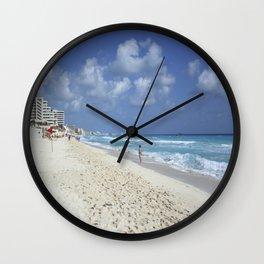 Carribean sea 7 Wall Clock