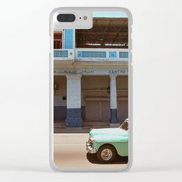 Centro Cutural Cubano Arabe Clear iPhone Case