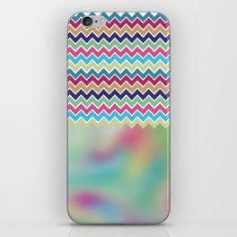 Milky Way Chevron iPhone Skin