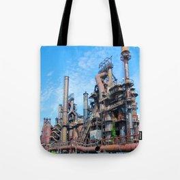 Bethlehem Steel Blast Furnaces 8 Tote Bag