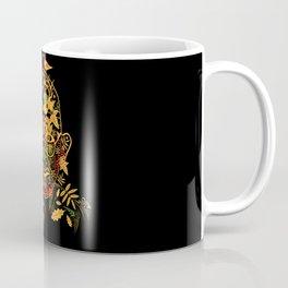 Gandhi Psychedelic Khokhloma Coffee Mug