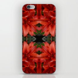 """""""A Gathering of Lilies"""" Remix - 3 (1-1) [D4468~49] iPhone Skin"""