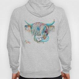 Highland Cattle full of colour Hoody
