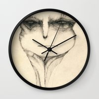 lord of the ring Wall Clocks featuring Lord by Attila Hegedus