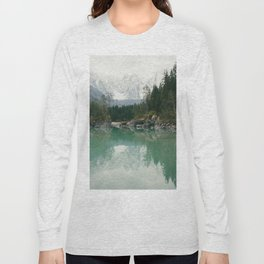 Turquoise lake - Landscape and Nature Photography Long Sleeve T-shirt