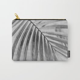 black and white tropical Carry-All Pouch