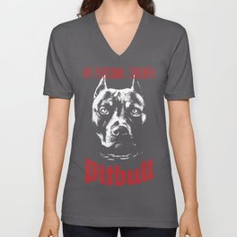 Pitbull My Personal Trainer Unisex V-Neck