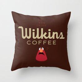 Wontkins Throw Pillow