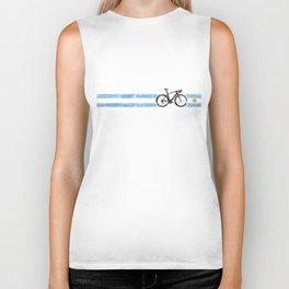 Cyclist Flag Argentina Argentine ARG Bike Racing Black Biker Tank