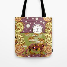 Freddie Croaker and the Clockworks Moonlight Sonata. Tote Bag