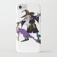 wizard iPhone & iPod Cases featuring Wizard by Noughton